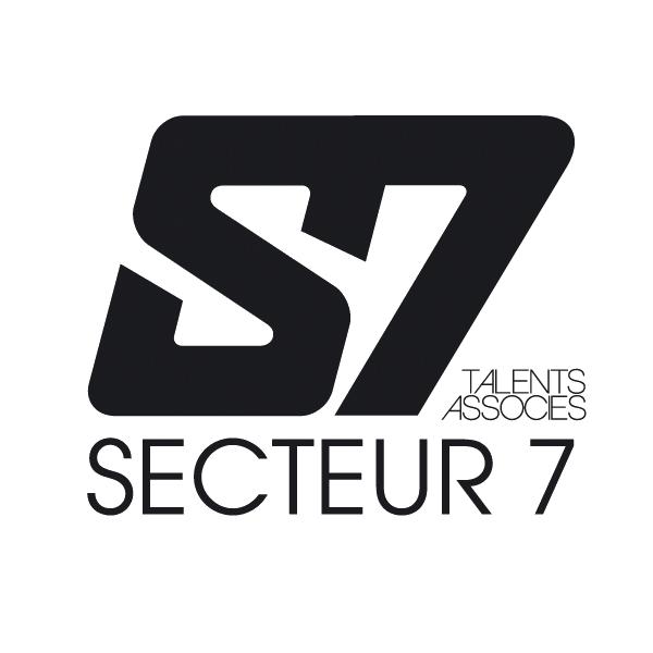 Nouveau Logo Secteur 7 black